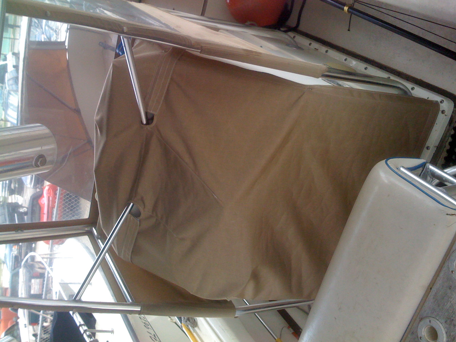 Atlantic Marine Canvas Inc Center Console Seat Motor